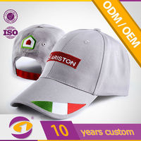 Italy new design high quality embroidery baseball sport cap and hat