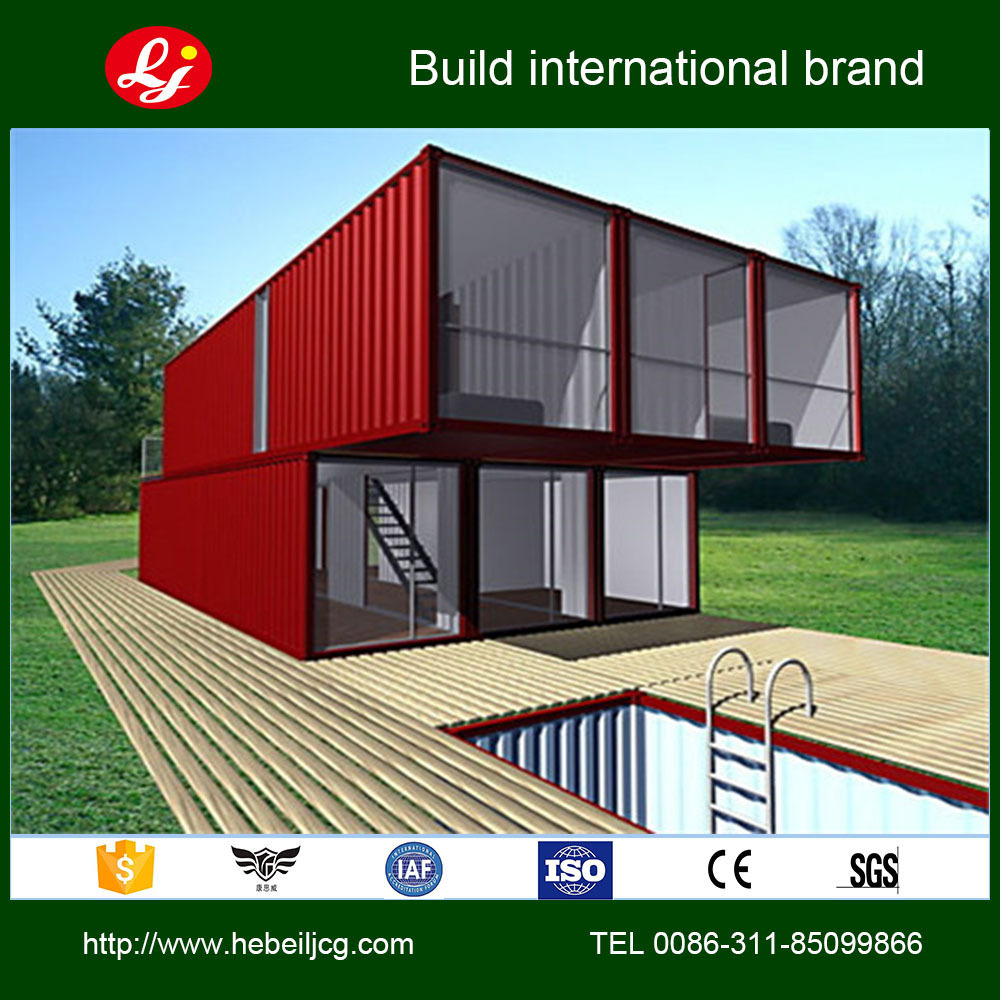 2015 Hot Selling Beautiful Steel Frame House Plans