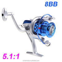 Pesca 8BB Ball Bearings ST4000 5.1:1 Ice Fishing Reel Left/Right Collapsible Handlle Fishing Spinning Reel