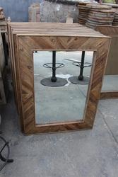 RE-1514 handmade resin decorative salon mirror frame