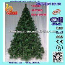 Dongyang OULI Top Quality Cheap Price Pine Needle Christmas Trees Suit For Southern American Countries