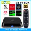 hd digital tv set top box M8 Indian Iptv Quad Core Indian Box No Monthly Payment