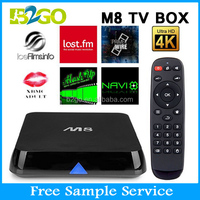 hd digital tv set top box M8 Indian Iptv Quad Core Indian Box No Monthly Payment