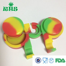 Multi function silicone bho oil container customized silicone container