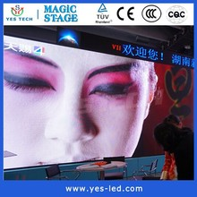 Energy saving led display p6 for stage background and muscial
