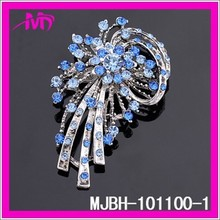 fashion pearl Flower brooch rhinestone brooch MJBH-101100-1