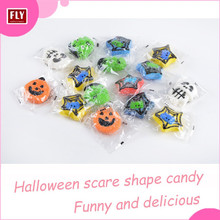 Handicraft Individual Packed Candy Colorful Halloween Marshmallow