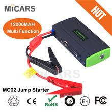 new arrival! multi-function stanley 12/24v 12000-16800mah mini emergency power bank battery car jump starter
