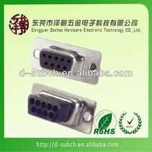 female d-sub crimp type DB9 connector