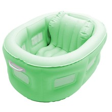plastic waterproof inflatable baby sofa bed
