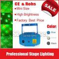 animación láser Etapa de iluminación láser cuatro patrones especiales para el disco de DJ del partido del club de noche 110V-240
