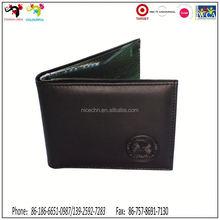 2015 Premium and promotion item !! genuine leather men's travel wallet