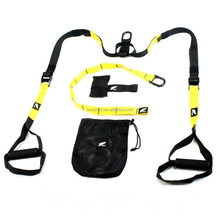 SUSPENSION TRAINER STRENGTH TRAINING CROSSFIT STRAPS HOME WORKOUT