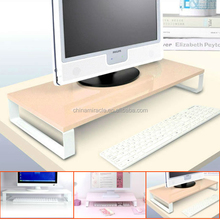 DIY practical MDF desktop computer shelf