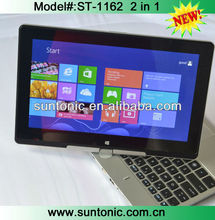 11.6 inch rotation and touched screen laptop computer with tablet and laptop functions 2 in 1 and 3G sim card slot functions