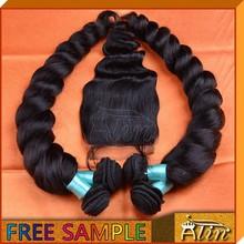 4x4 loose wave free part closure brazilian virgin hair lace closure in stock