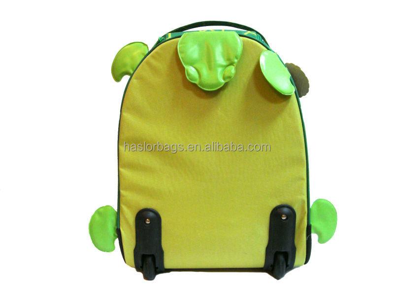 Enfants hotselling mignon Mini tortue à dos plein air, Voyage sac à dos avec chariot