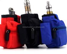 Vape MOD Bag , E Cig Zipper Case ,With PU Cloth Good Quality Welcome your OEM
