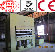 2015 Europe standard hydraulic automatic rubber plate vulcanizing press machine