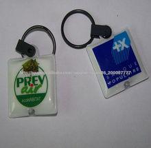 De alta calidad a bajo precio promocional de PVC claves LED abrocharse claves hebilla