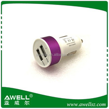 car charger wholesale 2 port for mobile phone charging