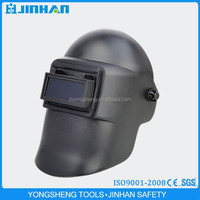 JINHAN brand welding helmets with black colour/welading mask ce for face protector in china
