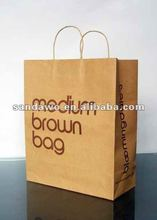 2015 High Quality Useful kraft paper bag,Fully customized paper bag,Wholesale brown paper bag