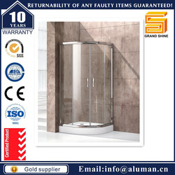 CE SGS Watermark back wall shower cabin