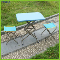 High quality lightweight camping aluminum fold table,picnic table,outdoor table HQ-1052-58