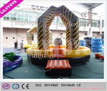 Popular ! human wrecking ball, inflatable sport game , inflatable wrecking ball for commercial use