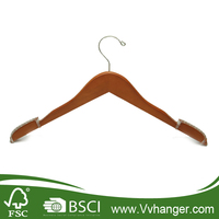 LH100 Novelty coat hangers with special notch and non slip rubber coated shoulder