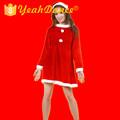 2015 nueva santa populares trajes de santa traje de la mujer