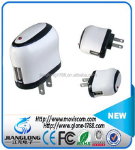 ODM/OEM USB Emergency Universal US Micro USB Wall Charger For Mobile Phone