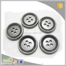 Cheap price 15mm 4 hole shirt thread metal buttons for shirt