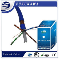 lan cable in Cat6 sftp high speed network,double shielded with drain wire