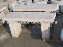 garden granite stone bench