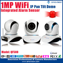 2015 best selling products Amovision QF508 H.264 Wireless P2P smart home webcams system