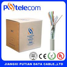 Potelecom high quality lan cable ftp cat 5e