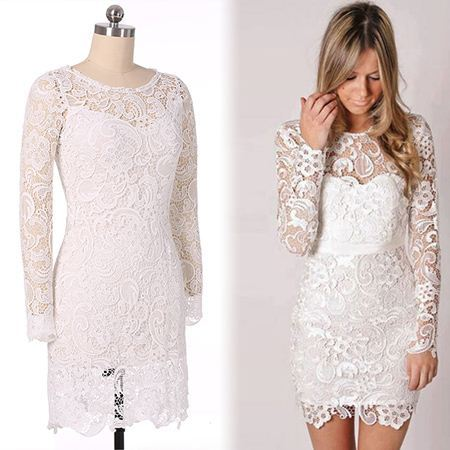Buy low price, high quality long sleeve tight lace dress with worldwide shipping on trueufilv3f.ga