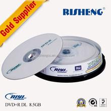 RISHENG blank 8.5GB DVD DL /8.5GB Blank disk/blank dvd 8.5gb rupture disc