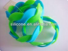 music silicone bracelet