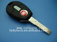 Fiat transponder key shell blank cover for wholesale