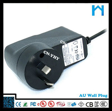 120v ac 60hz adapter 9V 1A/shenzhen yhy power supply co ltd 9V 1A/the adaptor