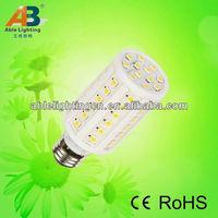 1200lm high lumen led light bulb ce rohs 50mm 80cri led corn lamp spotlight 3000k e27 12w led 5050smd 220v