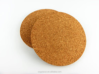 China Supplier 3mm Thickness Factory Wholesale Souvenirs Gifts Cork Drink Coasters Cup Mat