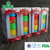 2015 New Hot Sale Colored Silicone Jars Dab Wax Container with factory price