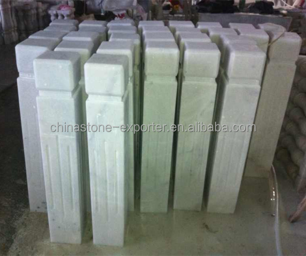 Marble items railing pillars columns house decorate marble for Where to buy columns for house