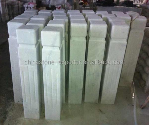 Marble Items Railing Pillars Columns House Decorate Marble