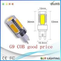 Boy brand high quality new style 7w cob led g9,led 7w gy6.35 bulb lamp
