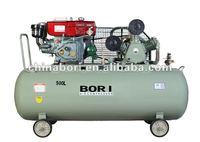 32cfm 10 hp 1.25 mpa diesel air compressor 500L